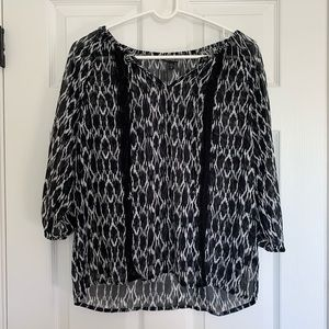 Express top. Medium. See through